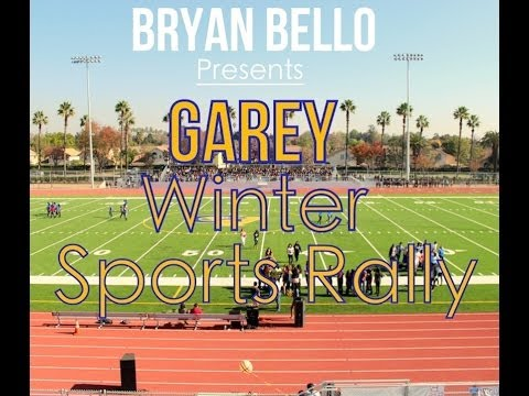 Garey Winter Sports Rally!