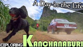 EXPLORING KANCHANABURI - THINGS TO DO WHILE LIVING IN THAILAND VLOG (ADITL EP80)