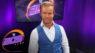 Drake Maverick announces Humberto Carrillo has joined WWE 205 Live: Exclusive, Jan. 15, 2019