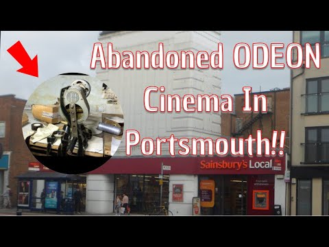 We explore The Abandoned Odeon Cinema In North End Portsmouth!!