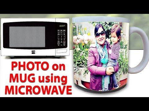 How to Print Photo on Mug at Home Using Microwave  | 100% Success DIY Photo Mug Print