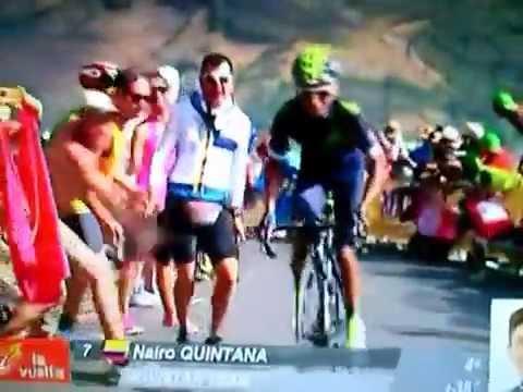 Expresión Colombia Radio Llegada Octava etapa Vuelta a España