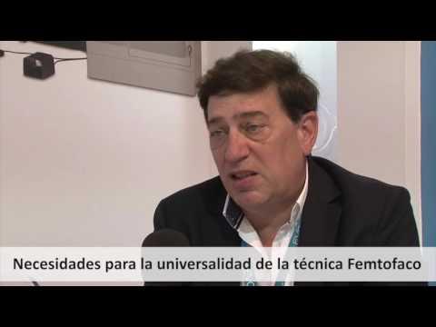 Imagen de Entrevista Dr. Pedro Tañá , Oftalvist - SECOIR 2016 - Necesidades futuras del Femto-Faco