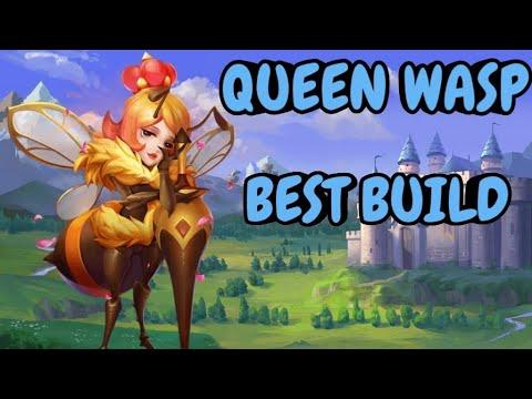 Queen Wasp L Best Setup L Castle Clash