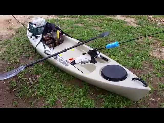 Heritage Angler 10 Kayak Review/Setup