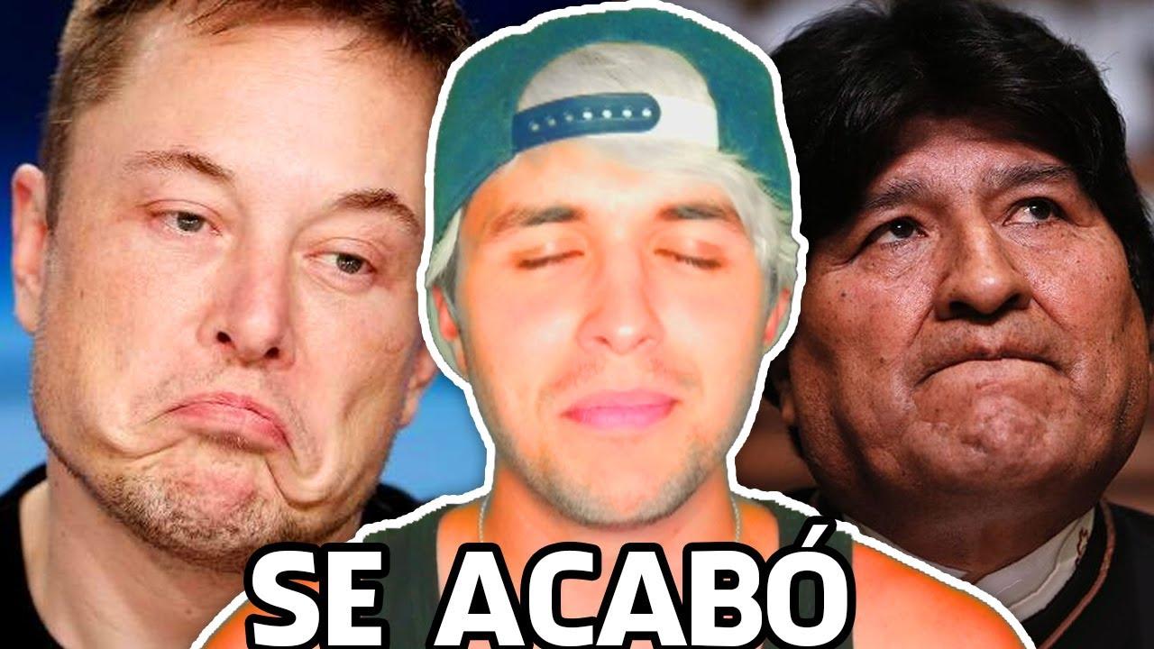 Yo era amigo de Elon Musk y Evo Morales 😡 Pero QUISIERON QUITARME EL LITIO 😭