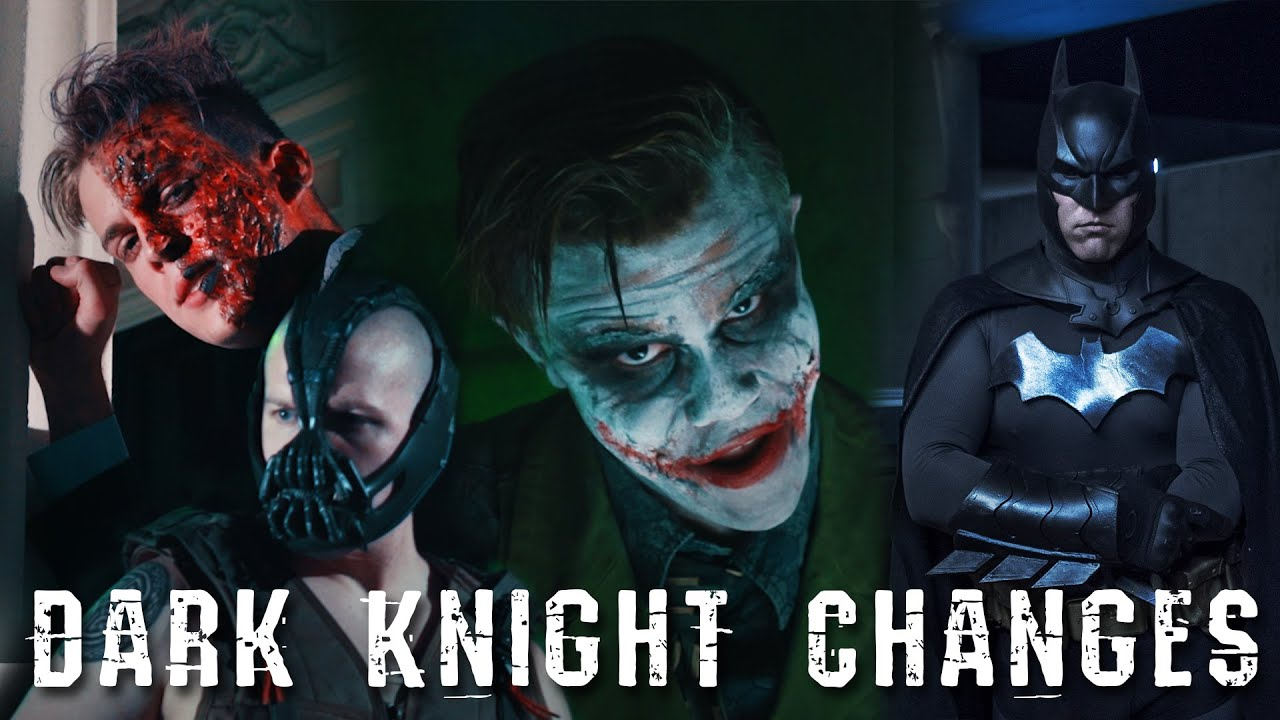 Dark Knight Changes - One Direction 'Night Changes' Batman Parody