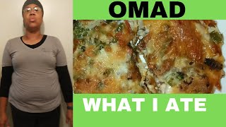 Omad What I Eat | Day 15 ✔  | Fasting Weight Loss Journey 2020