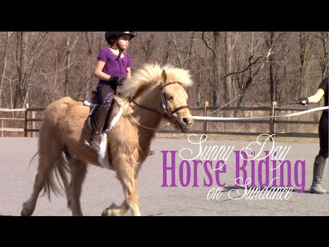 Sister's Sunny Day Horse Riding on Sundance