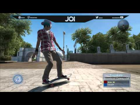 Skate 3: Road to a Trickline Clip - ft. Joi & Triix