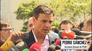 Dirigentes políticos condenan los atentados de Barcelona