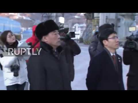 South Korea: North Korean Olympic ferry arrives in South Korea