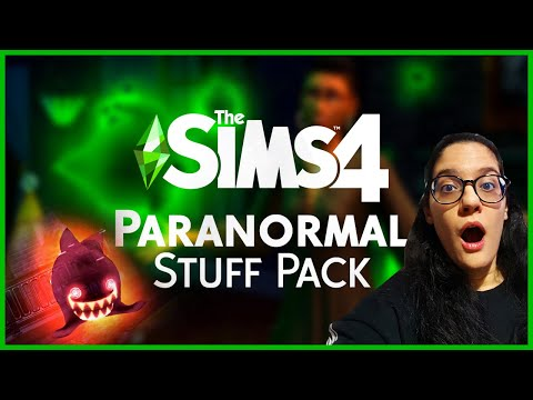 The Sims 4 Paranormal Stuff Pack: (Trailer Reaksiyon) |