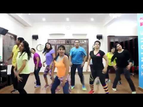 MATARGASHTI ZUMBA FITNESS ROUTINE BY ZIN MANISHA