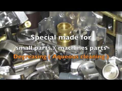 MB-SPIN LINE : Spray Cleaning Machine