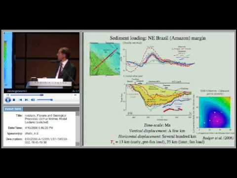 Egu2008 Isostasy Flexure And Geological Processes Arthur Holmes