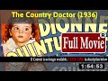 [ [TV SCHEDULE ON CINEMA OLD] ] @The Country Doctor (1936) #The5457iwuom