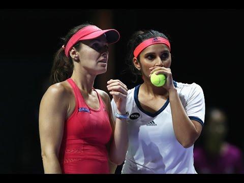 Martina Hingis & Sania Mirza vs Chan & Chan Doubles Highlights   2016 WTA Finals Singapore
