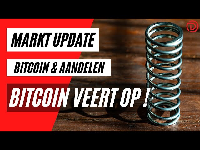 Bitcoin Veert Op ! | Live Koers Update Bitcoin & Aandelen !
