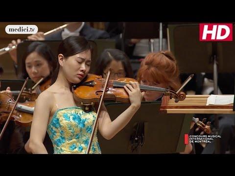 CMIM Final Round: Ji Won Song - Violin Concerto in D Major - Tchaikovsky