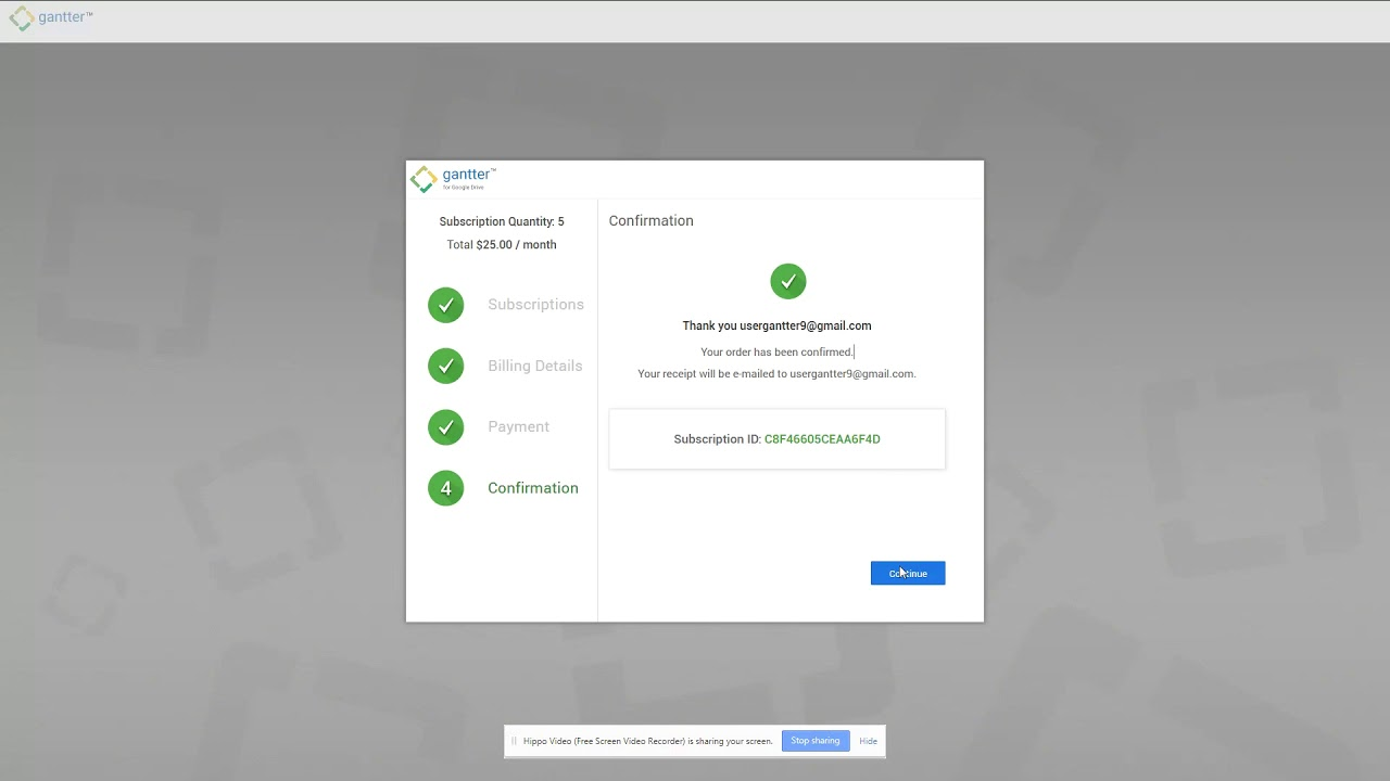 Gantter for google drive installation flow youtube gantter for google drive installation flow ccuart Gallery