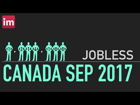 Jobless in Canada (September 2017) | Employment in Canada