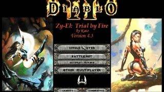 обзор мода Diablo II  Zy - EL