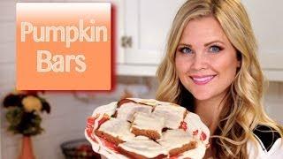Yummy Pumpkin Bars!!