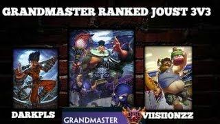 Smite: Grandmaster Ranked Joust 3v3 Zhong Kui