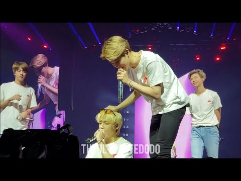 180928 Answer: Love Myself @ BTS 방탄소년단 Love Yourself Tour in Newark Fancam 직캠