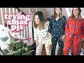 BATTLE OF THE CHRISTMAS PYJAMAS 2018 - SIZE 14 TRY ON | LUCY WOOD