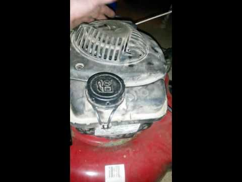 Mtd 125 cc won't stay running (push mower)