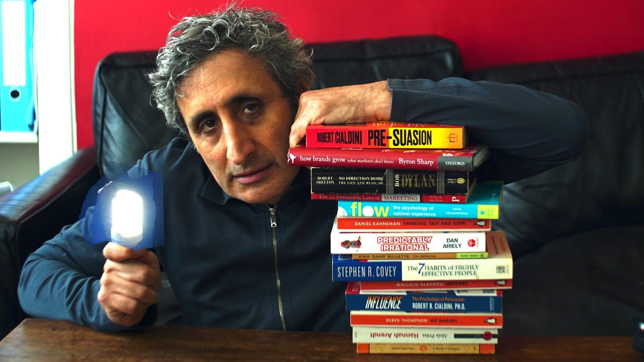 5 BUSINESS [and Social Psychology] BOOKS that will Change the way you think
