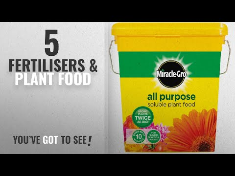 Top 10 Fertilisers & Plant Food [2018]: Miracle-Gro All Purpose Soluble Plant Food Tub, 2 kg