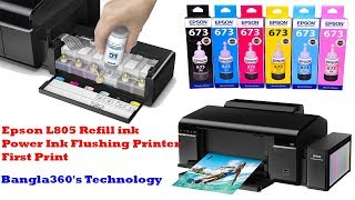 Refill Ink for Epson L805 Prin…
