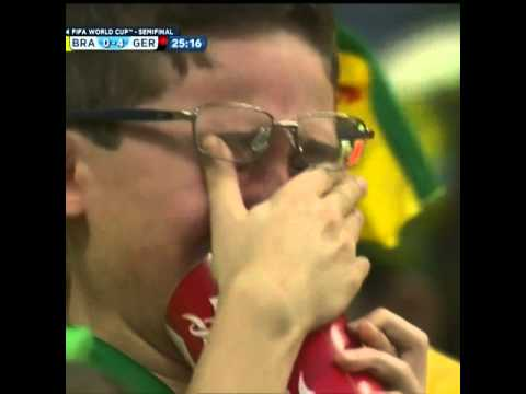 Crying Kid Brazil Vs Germany World Cup 2014 | Brasil Vs Alemanha 2014