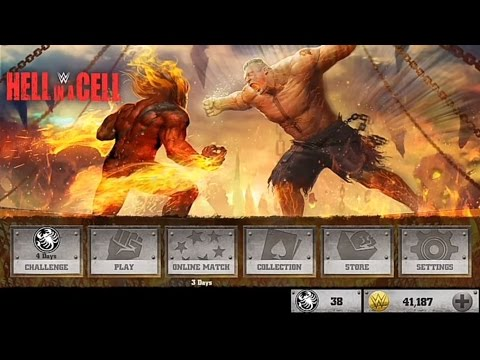 WWE Immortals Hell in a Cell with Evolved Roman Reigns game play