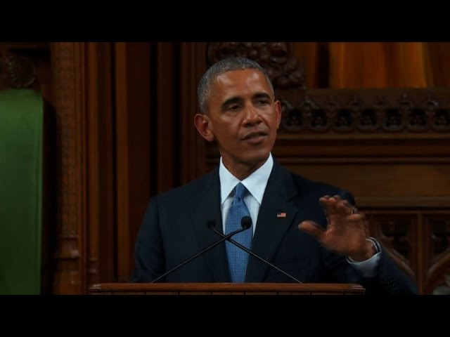 Obama addresses Canadian Parliament, warns against isolationism