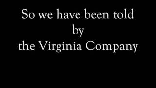 Pocahontas: Virginia Company Lyrics