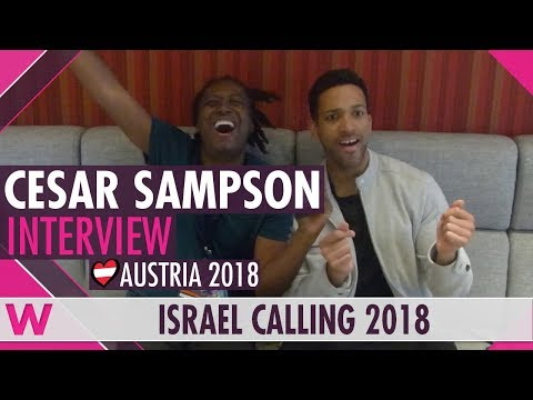 Cesár Sampson (Austria 2018) Interview | Israel Calling 2018