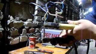Простой способ сварки скруток(Как легко быстро и главное надёжно соеденить медные провода сварочным инвертором и графитным электродом., 2015-07-05T14:04:06.000Z)