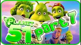 Planet 51 Walkthrough Part 7 (PS3, Xbox 360, Wii) - Movie Game