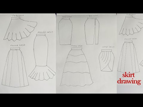 Download (7+)how to draw skirt in fashion designing illustration || step by step|| how to draw skirt