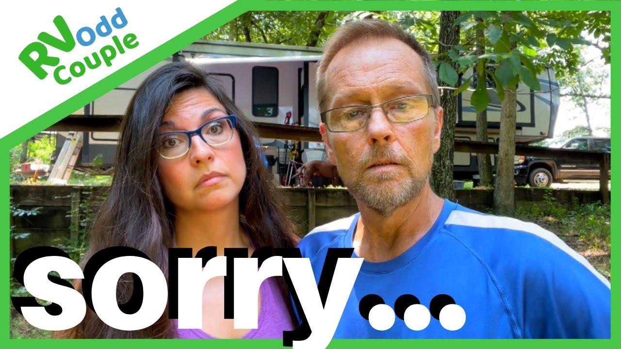 We were wrong…  Closing Campground Gates