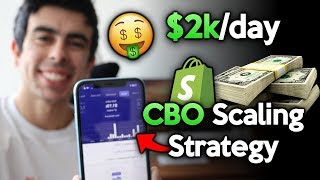 NEW $2000/Day CBO Scaling Strategy | Facebook Ads For Shopify Dropshipping 2019