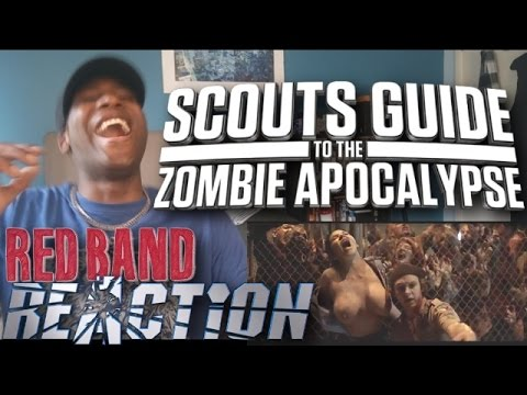 Download Scouts Guide to the Zombie Apocalypse Official Red Band Trailer #1 - REACTION!