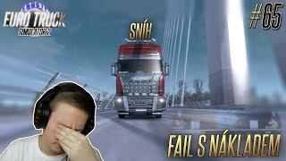 SNÍH A FAIL S NÁKLADEM   Euro Truck Simulator 2 #65