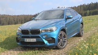 BMW X6M(Pour sa deuxième génération, le BMW X6 a droit aussi à son traitement à la sauce « M ». Il atteint des sommets de puissance et déploie une impressionnante ..., 2015-06-12T13:37:45.000Z)