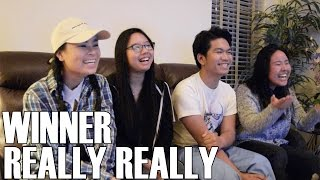 WINNER - Really Really (Reaction Video)