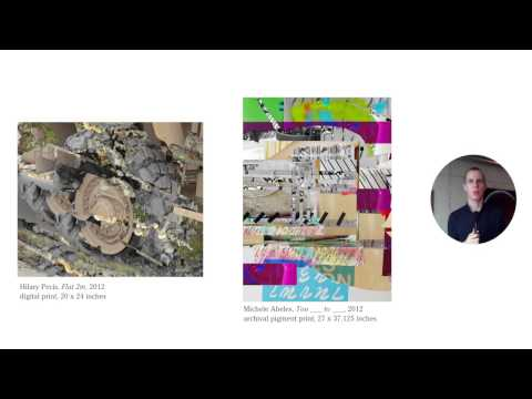 Alex Fischer's OCAD DPXA Artist Talk (Contemporay Art and the Post Digital)
